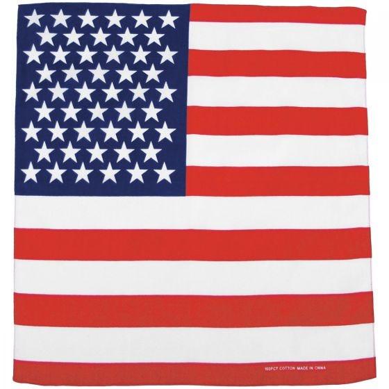 MFH Bandana Bomuld - USA Flag