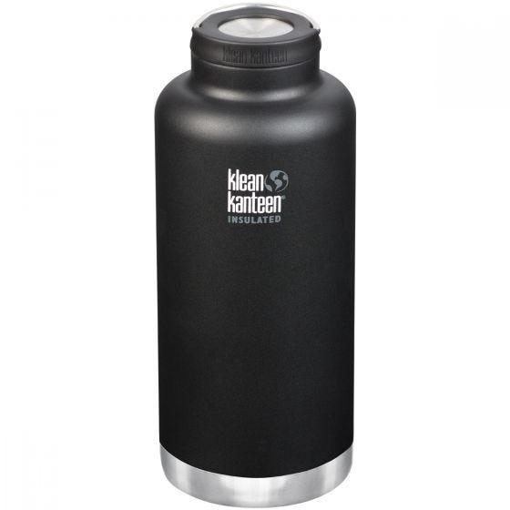 Klean Kanteen TKWide Loop Cap Termoflaske 1900 ml - Shale Black