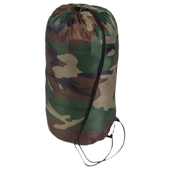 Mil-Tec Comforter Sovepose - Woodland