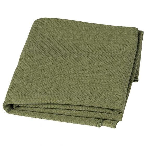 Mil-Tec Kølende Håndklæde 100 cmx31 cm - Olivenfarvet