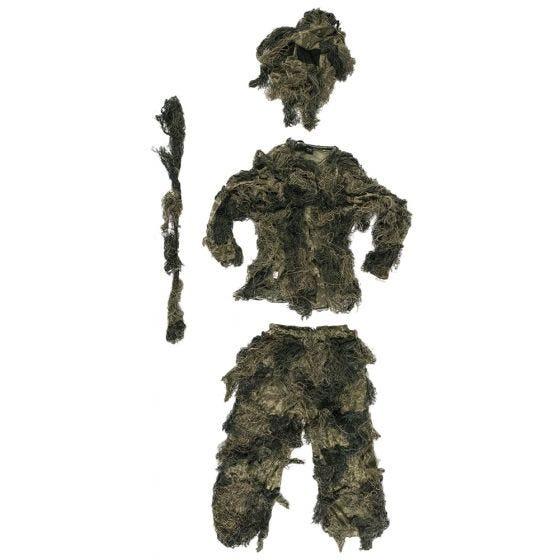 Mil-Tec Anti-Fire Basic Ghillie-dragt - Woodland
