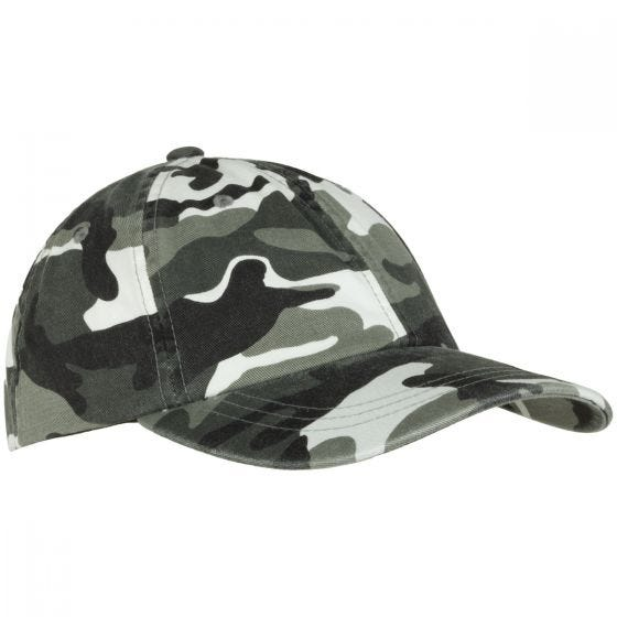 YP Low Profile Camo Washed Kasket - Washed Urban