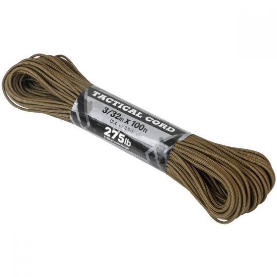 Atwood Rope 275 Taktisk Snor 100 ft - Coyote