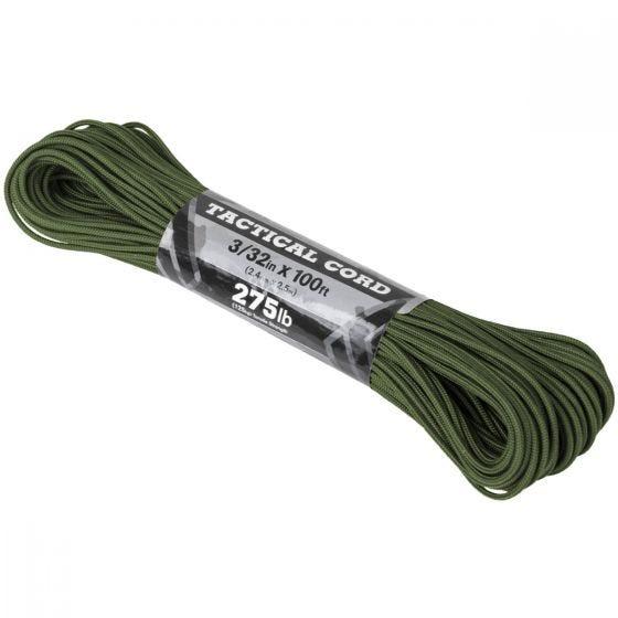 Atwood Rope 275 Taktisk Snor 100 ft - Olive Drab