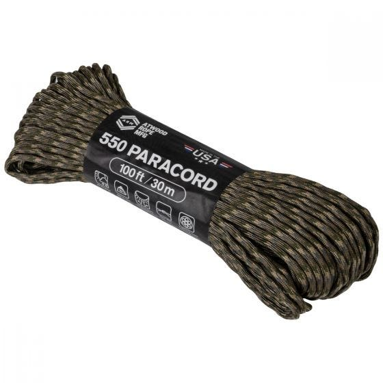 Atwood Rope 550 Parasnor 100 ft - MultiCam