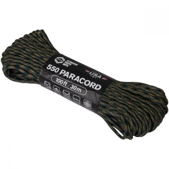 Atwood Rope 550 Parasnor 100 ft - Woodland