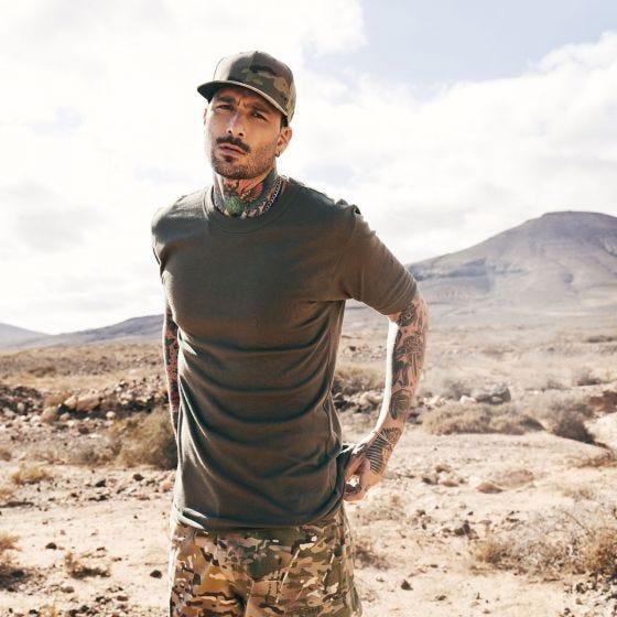 Brandit BW T-shirt - Olivenfarvet