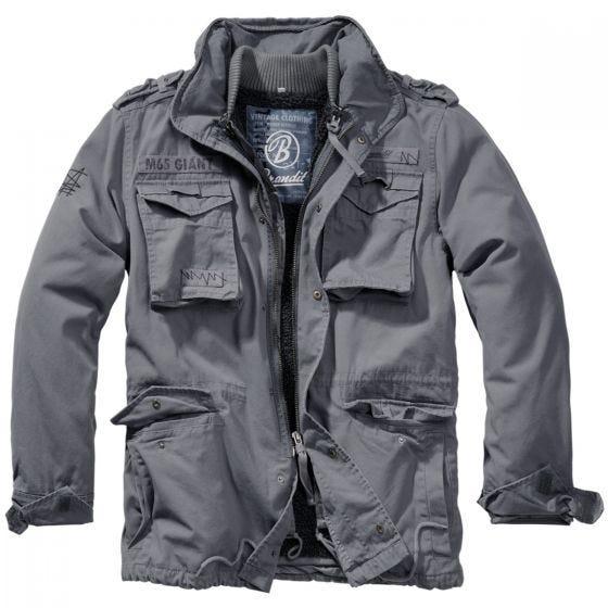 Brandit M-65 Giant Jakke Charcoal Grey