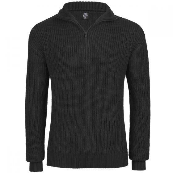 Brandit Marine Pullover-trøje - Sort