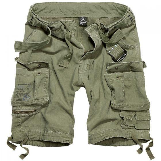Brandit Savage Vintage Shorts - Olivenfarvet