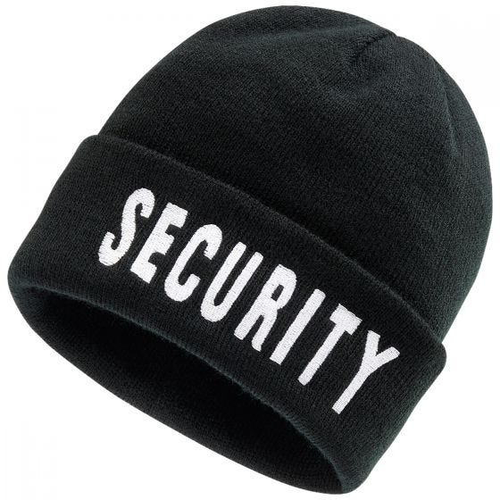 Brandit Sikkerhedsbeanie - Sort
