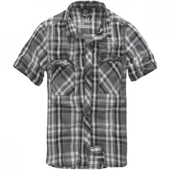 Brandit Roadstar Skjorte - Sort/Anthracite