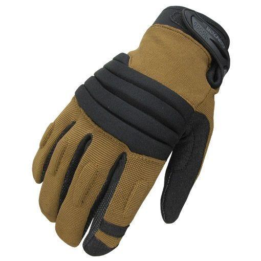 Condor Stryker Handsker Polstret Kno - Coyote/Sort