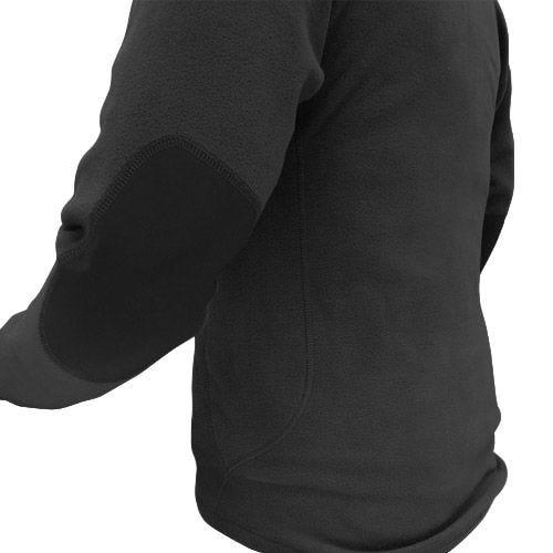 Condor Pullover I Fleece med 1/4 Lynlås - Sort