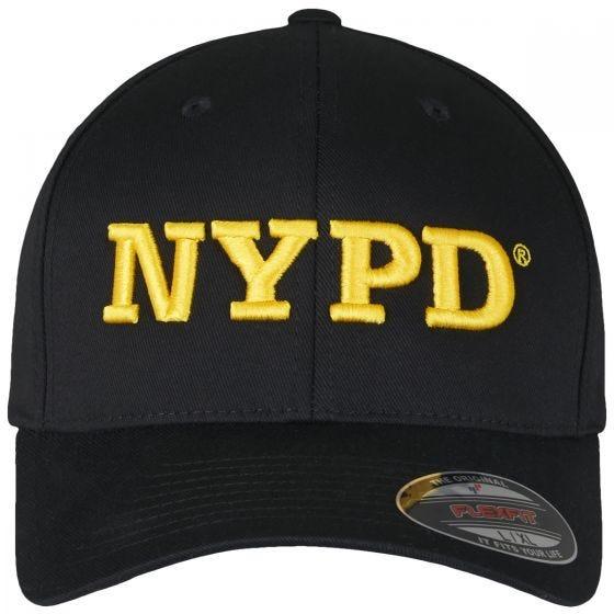 Flexfit NYPD 3D Logo Kasket - Sort