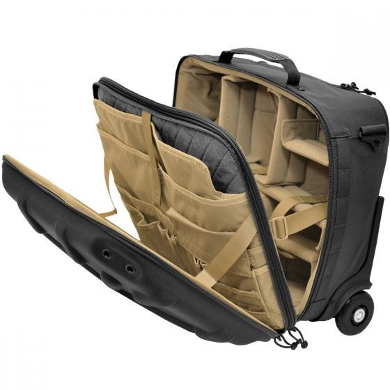 Hazard 4 Airstrike Tech Airline Rullende Carry-on - Sort