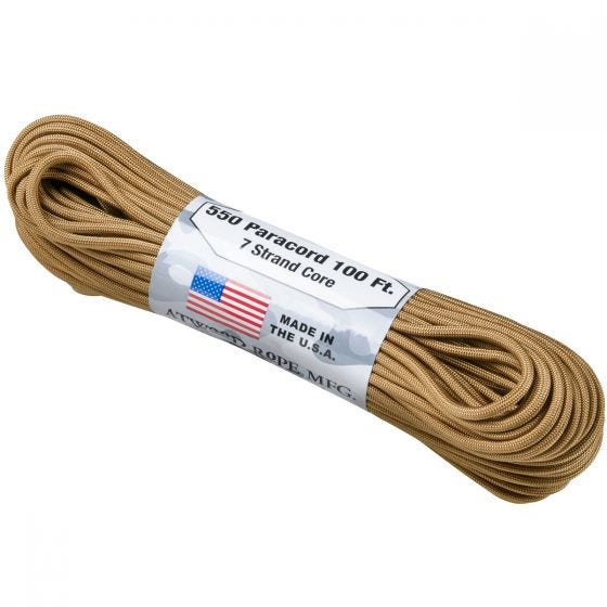 Atwood Rope Parasnor 550 Lbs. - Coyote
