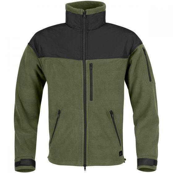 Helikon Classic Army Fleece - Olive Green/Sort