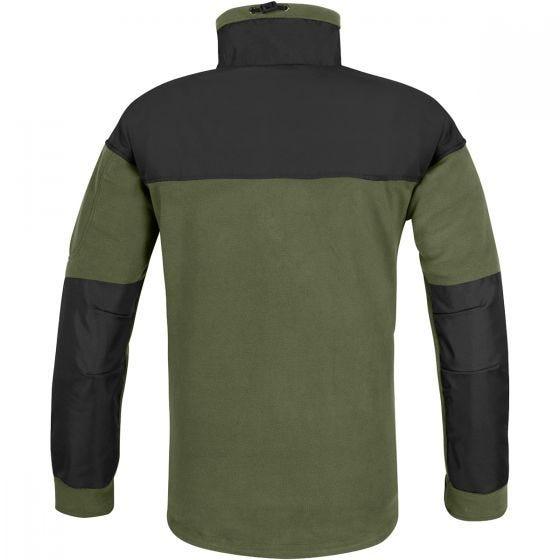 Helikon Fleece med Membran - Olivenfarvet/Sort