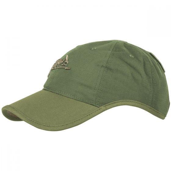 Helikon Logo Kasket Polybomuld med Ripstop Olive Green/Adaptive Green