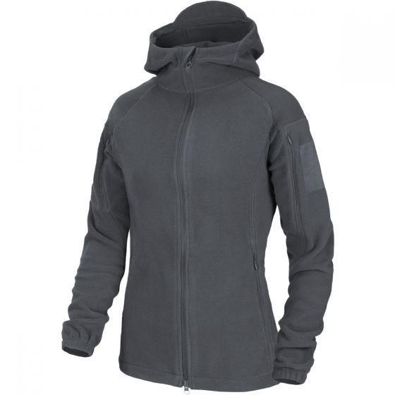 Helikon Cumulus Tung Fleece-jakke Til Kvinder - Shadow Grey