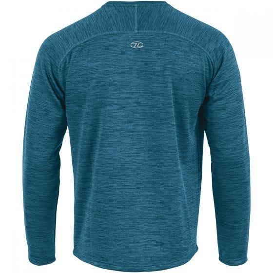 Highlander Sweater med Crew Neck - Marine Blue