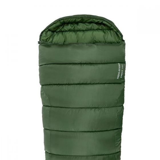 Highlander Phoenix Ember 250 Mummy-sovepose - Olive Green