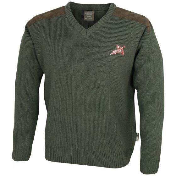 Jack Pyke Shooters Pullover - Hunters Green