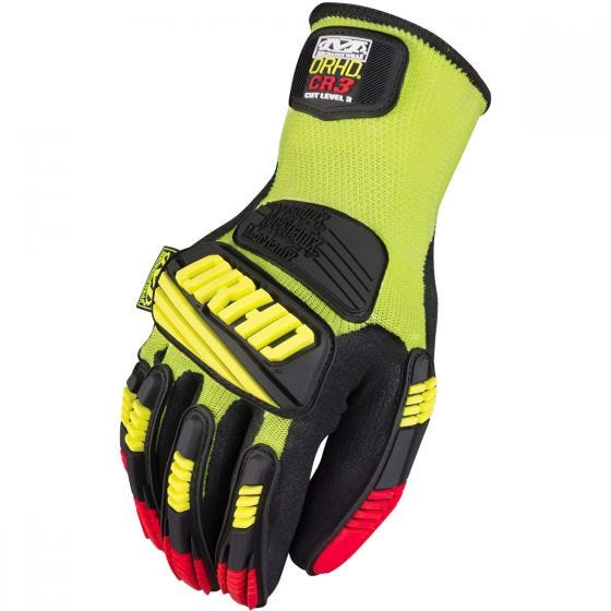 Mechanix Wear The Safety M-Pact ORHD Knit CR3 Handsker - Hi-Viz Yellow