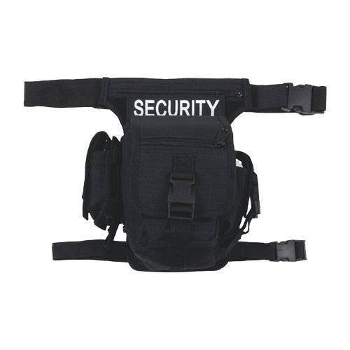 MFH Security Bæltetaske - Sort