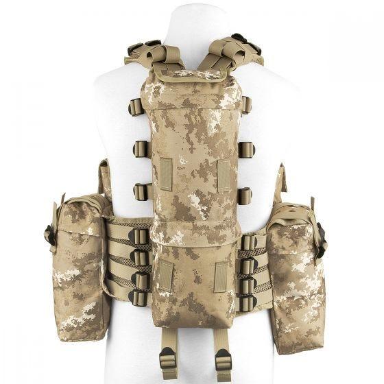 MFH South African Assault Vest Vegetato Desert