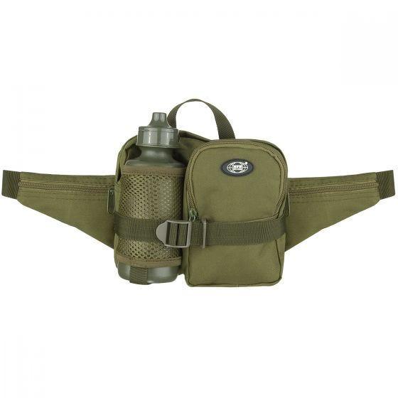 MFH Bæltetaske med Flaske - OD Green