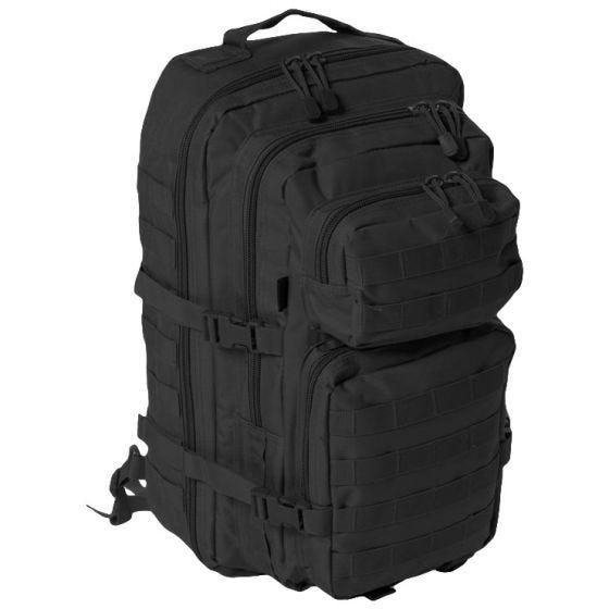 Mil-Tec Stor Assaultpakke med En Strop - Sort