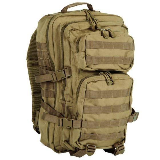 Mil-Tec MOLLE US Stor Assaultpakke - Coyote