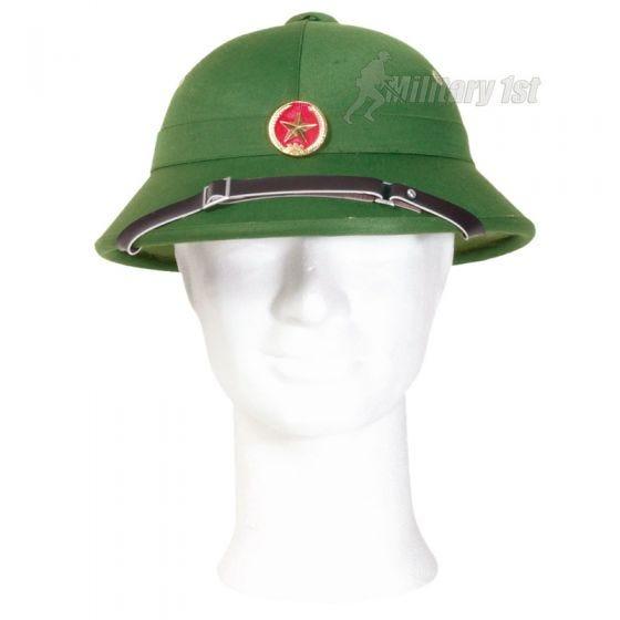 Mil-Tec Vietcong Tropical Hjelm med Skilt