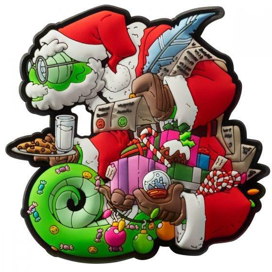 Patchlab Chameleon Christmas Mærke - Rød/Green