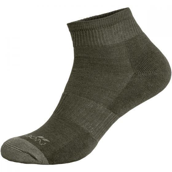 Pentagon Sokker med Lavt Snit - Olivenfarvet