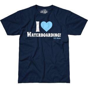 7.62 Design I Love Waterboarding T-shirt - Navy