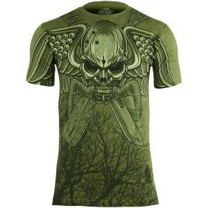 7.62 Design USMC Recon Swift Silent Deadly T-Shirt Military Green