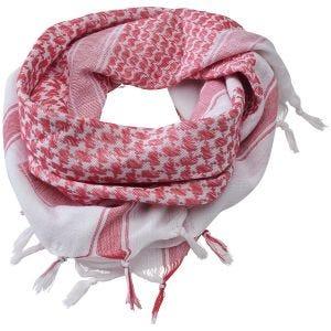 Brandit Shemag-halstørklæde - Rød/Hvid