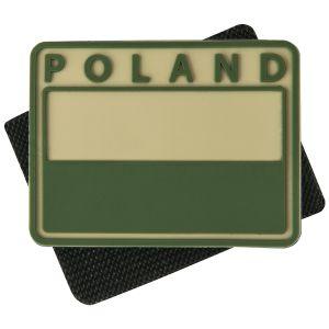 Helikon Polish Subdued Flaglap med Polen-print Sæt med 2 Khaki