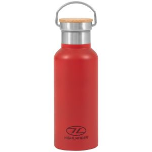 Highlander Campingflaske 500 ml - Rød