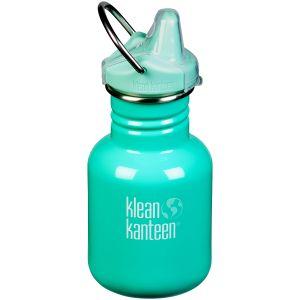 Klean Kanteen Kid Kanteen 355ml Bottle Sippy Cap Beach Bum
