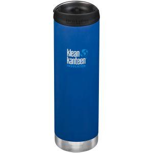 Klean Kanteen TKWide 591ml Insulated Bottle Cafe Cap Deep Surf