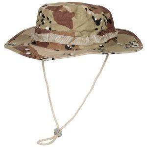 MFH GI Bush-hat Ripstop - 6-Farvet Ørken