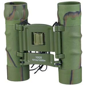 Mil-Tec Foldable Binocular Gen II 10x25 Camo