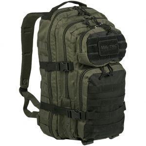 Mil-Tec US Lille Assaultpakke - Ranger Green/Sort