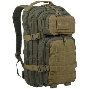 Mil-Tec US Lille Assaultpakke - Ranger Green/Coyote