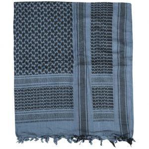 Mil-Tec Shemagh-halstørklæde - Blå/Sort