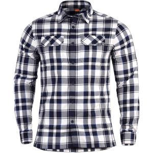 Pentagon Drifter Flannel Shirt Long Sleeve White Checks